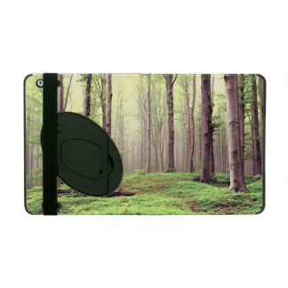 Autumn in the forest iPad case