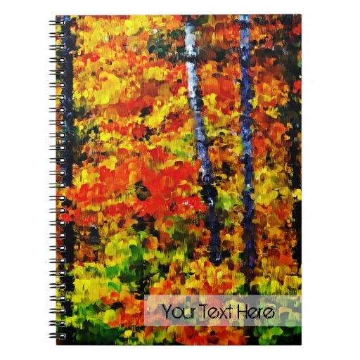 Autumn in the Forest - Painting Art Notebook