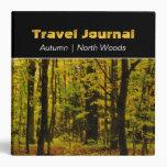 Autumn in the North Woods Custom Travel Binder