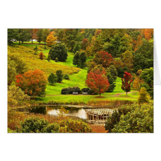 Autumn in the Park Cards