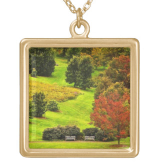 Autumn in the Park Gold Plated Necklace