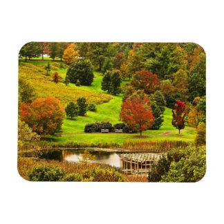 Autumn in the Park Magnet