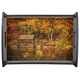 Autumn In the Park Serving Tray