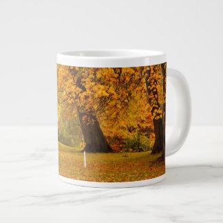 Autumn in the park jumbo mug