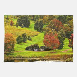 Autumn in the Park Towels