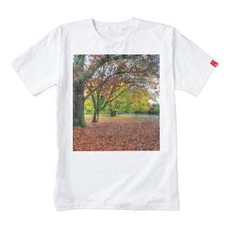 Autumn in the Park Zazzle HEART T-Shirt