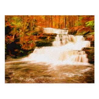 Autumn in the Poconos Postcard