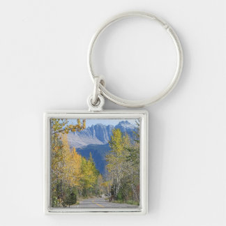 Autumn in the Rockies Keychain