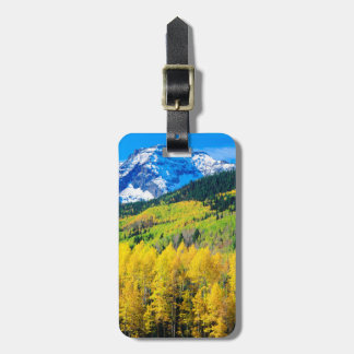 Autumn in the Rockies Luggage Tag