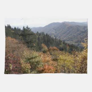 Autumn in the Smoky's Towel