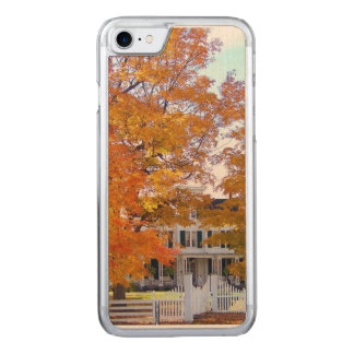 Autumn in the Suburbs Carved iPhone 7 Case