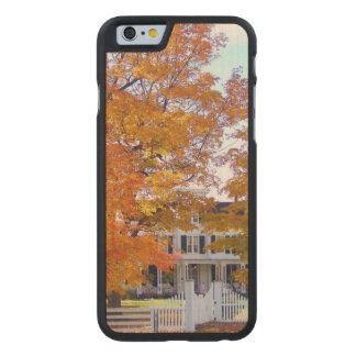 Autumn in the Suburbs Carved® Maple iPhone 6 Slim Case