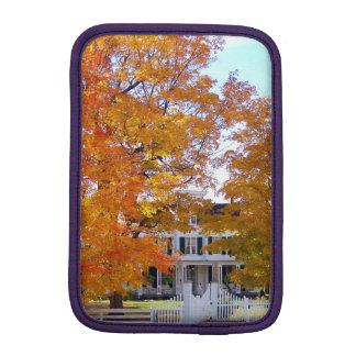 Autumn in the Suburbs iPad Mini Sleeve