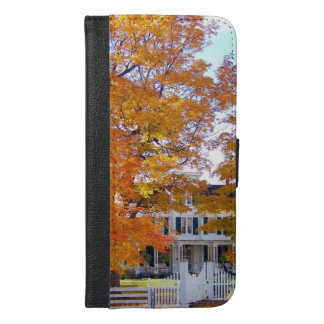 Autumn in the Suburbs iPhone 6/6s Plus Wallet Case