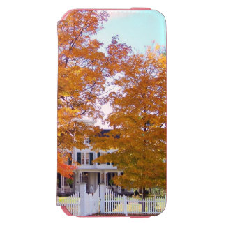 Autumn in the Suburbs iPhone 6/6s Wallet Case