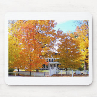 Autumn in the Suburbs Mouse Pad