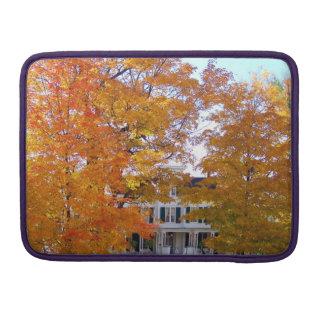 Autumn in the Suburbs Sleeve For MacBooks
