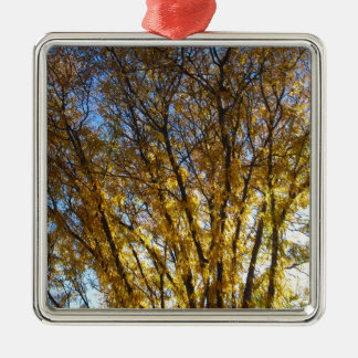 Autumn in the Texas Panhandle Metal Ornament