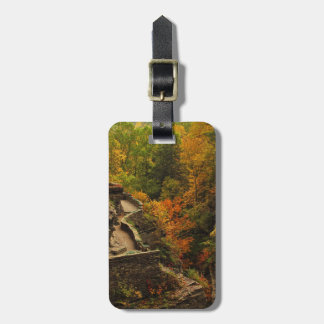 Autumn in Treman State Park Tags For Bags