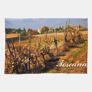 Autumn in Tuscany Hand Towel