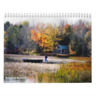 Autumn In Vermont Calendar