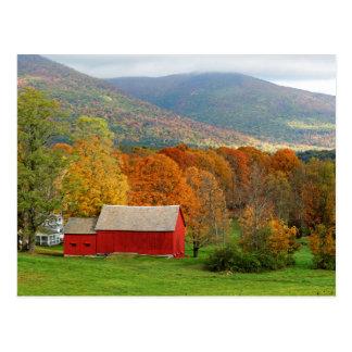 Autumn in Vermont Postcard