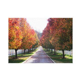 Autumn in Virginia Country Farm Landscape Art Prin Canvas Print