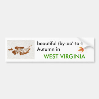 Autumn in West Virginia Bumper Sticker