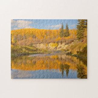 Autumn in Whitemud Ravine Jigsaw Puzzle
