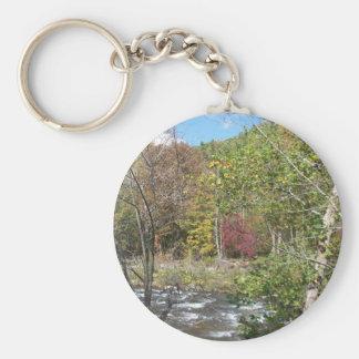 Autumn in WV Keychain