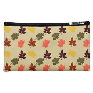 Autumn Inspired Leaves Cosmetic Bag