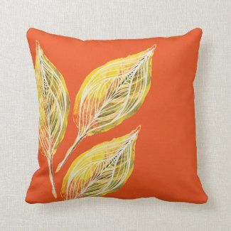 Autumn Inspired Throw pillow