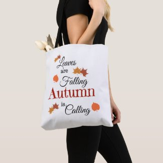 Autumn Is Coming Tote