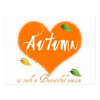 Autumn is such a Beautiful Season Postcard