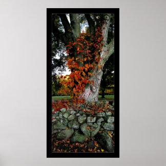 Autumn Ivy Print