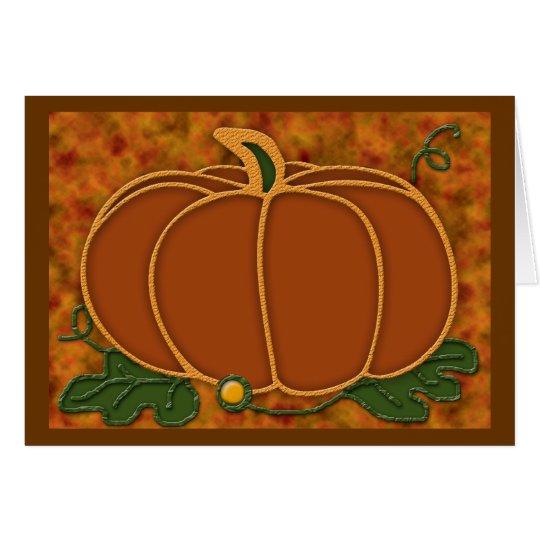 Autumn Jewel Card #1 (blank)