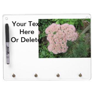 Autumn Joy Sedum Pink Dry Erase Board With Keychain Holder