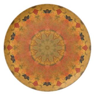 Autumn Kaleidoscope Dinner Plate