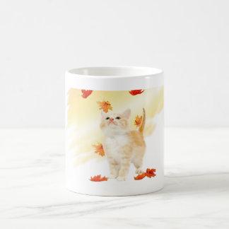 Autumn Kitten Mug