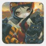 """""""Autumn Kitties"""" Sticker"""