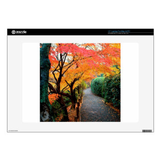 "Autumn Kyoto Japan 15"" Laptop Skin"