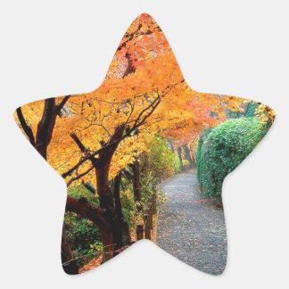 Autumn Kyoto Japan Sticker