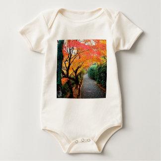 Autumn Kyoto Japan Baby Bodysuits