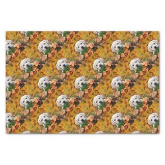 Autumn Labrador Tissue Paper