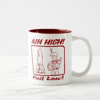 "Autumn Lake ""AIM HIGH!"" Coffee Mug"
