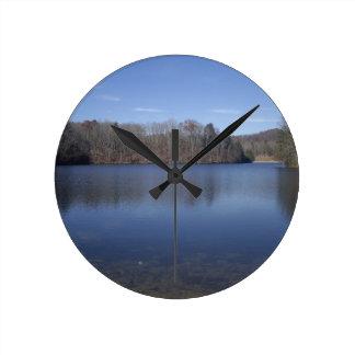 Autumn Lake Wallclocks