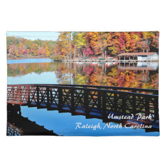 Autumn Lake Cloth Placemat