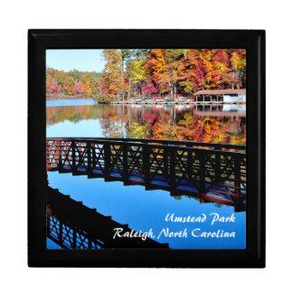 Autumn Lake Jewelry Box