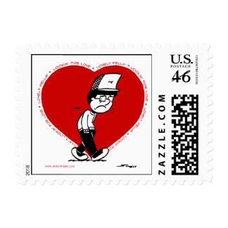 Autumn Lake LONELY HEART Postage
