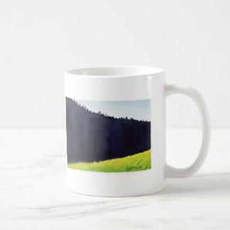 "Autumn Lake ""MORNING SHADOW"" Coffee Mug"